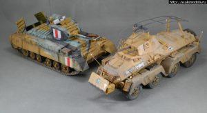 35116 BRITISH INFANTRY TANK VALENTINE Mk.I w/CREW + Spheros