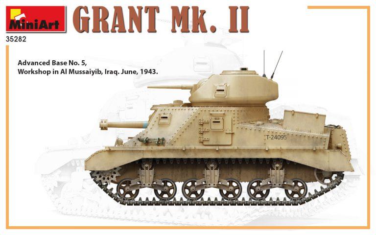 35282 Grant Mk. II 中型坦克