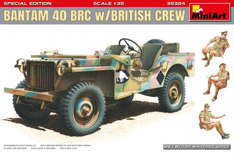 35324 BANTAM 40 BRC w/BRITISH CREW. SPECIAL EDITION