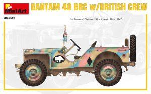 Side views 35324 BANTAM 40 BRC w/BRITISH CREW. SPECIAL EDITION