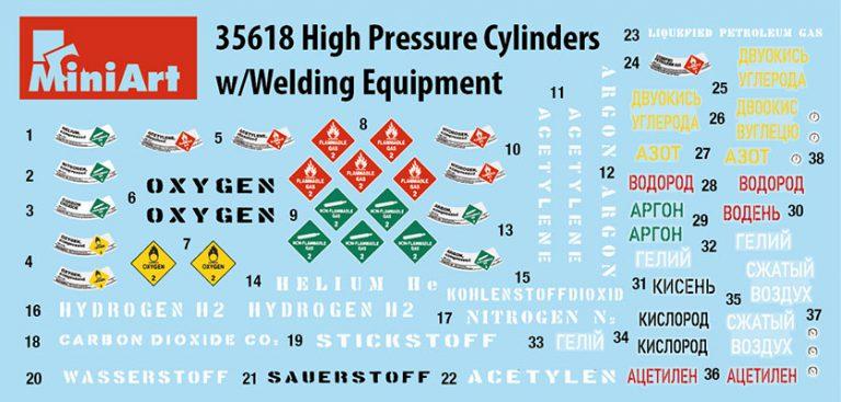 35618 带焊接设备的高压气缸