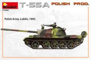 Side views 37090 T-55A POLISH PRODUCTION