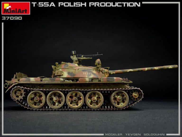 37090 T-55A POLISH PRODUCTION