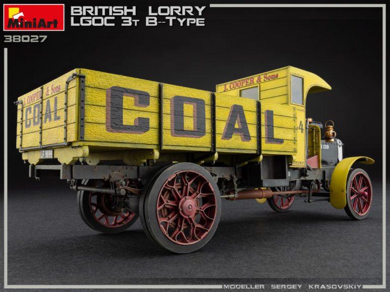 38027 Britischer LKW 3T LGOC B-TYPE