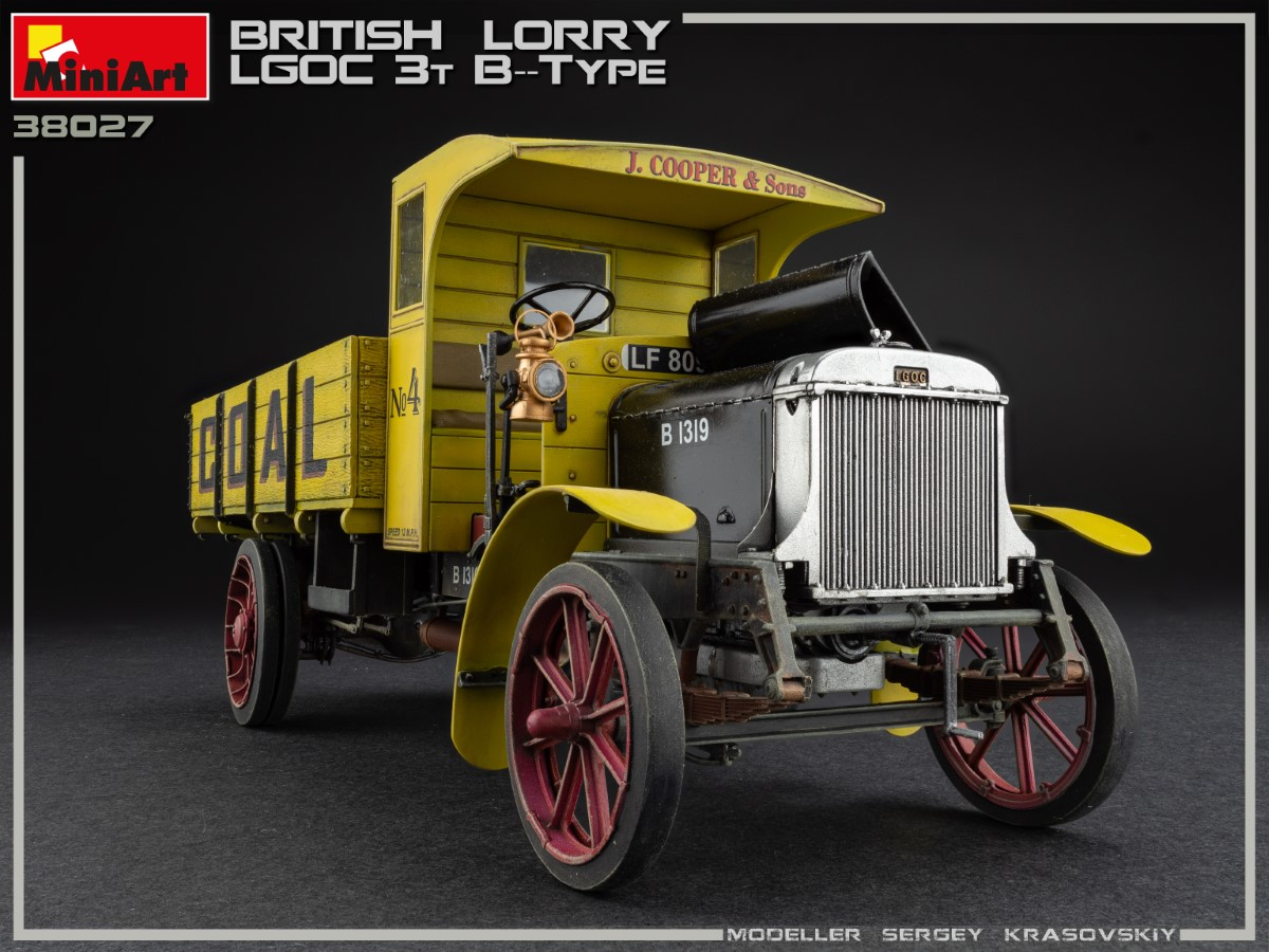 New Photos of Kit: 38027 BRITISH LORRY 3T LGOC B-TYPE
