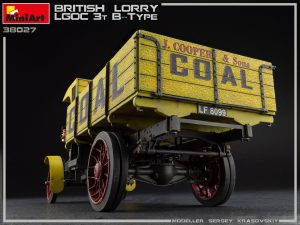 Photos 38027 BRITISH LORRY 3T LGOC B-TYPE