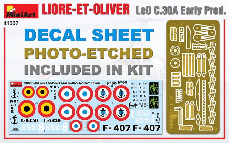 41007 LIORE-ET-OLIVER LeO C.30A Early Prod