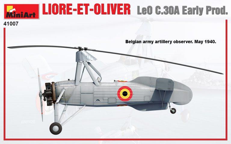 41007 LIORE-ET-OLIVER LeO C.30A Раннего Производства