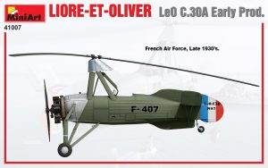 Side views 41007 LIORE-ET-OLIVER LeO C.30A Early Prod