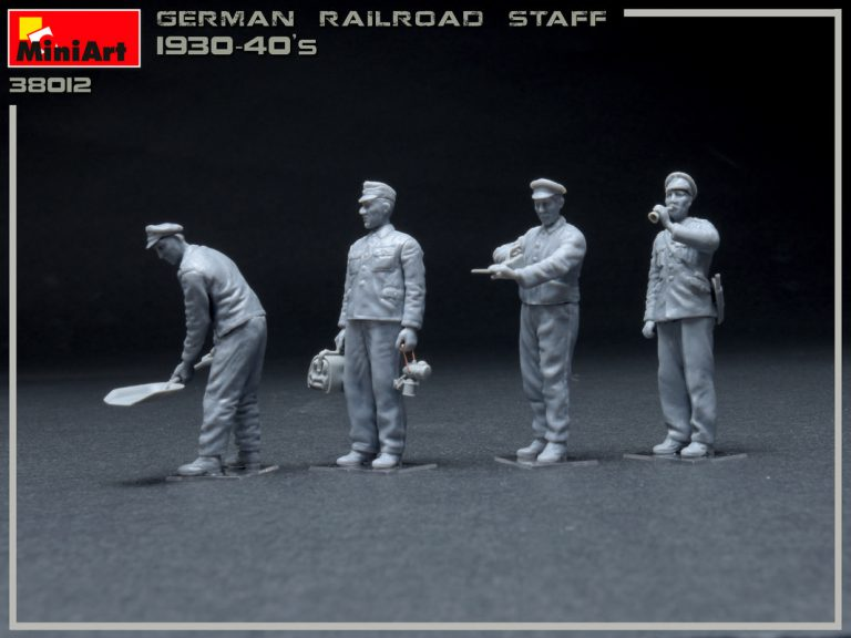 38012 GERMAN RAILROAD STAFF 1930-40s