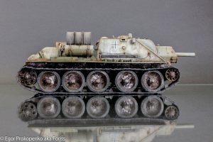 35175 SU-122 INITIAL PRODUCTION. INTERIOR KIT + Egor Prokopenko aka Foriss