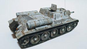 35208 SU-122 (Last Production) INTERIOR KIT + Sergey Fedorinov