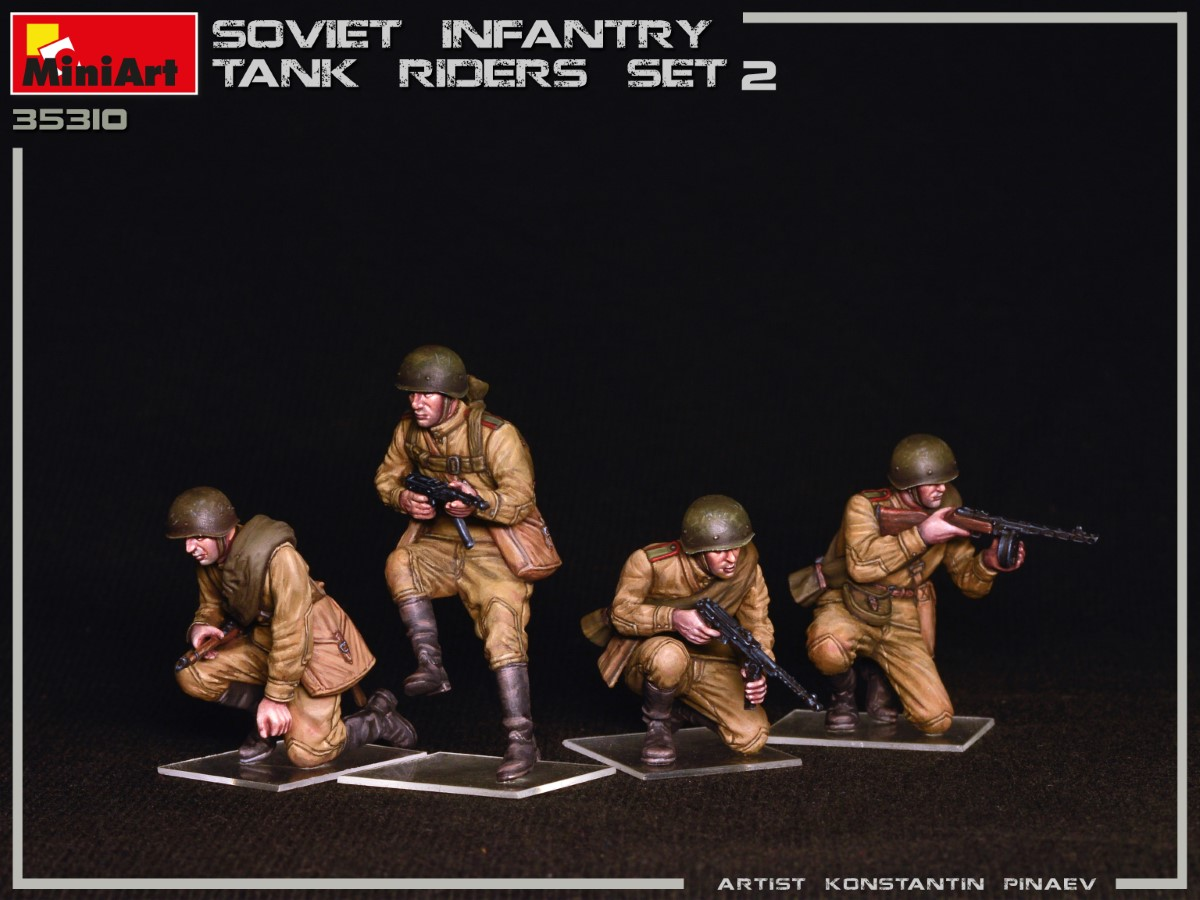 New Photos of Kit: 35310 SOVIET INFANTRY TANK RIDERS SET 2