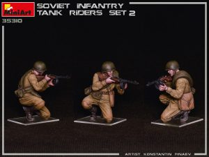 Photos 35310 SOVIET INFANTRY TANK RIDERS SET 2