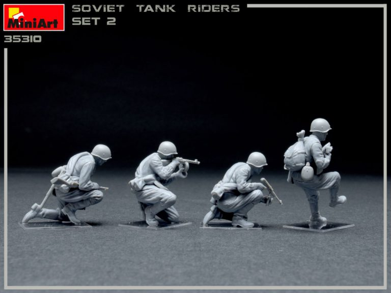 35310 SOVIET INFANTRY TANK RIDERS SET 2