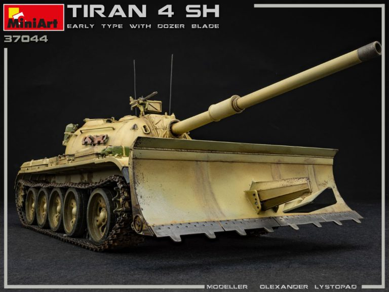 37044 TIRAN 4 SHARIR EARLY TYPE w/DOZER BLADE