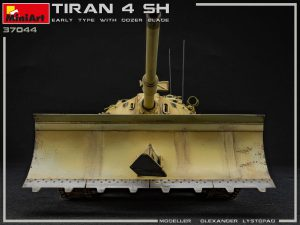 37044 TIRAN 4 SHARIR EARLY TYPE w/DOZER BLADE + Olexandr Lystopad