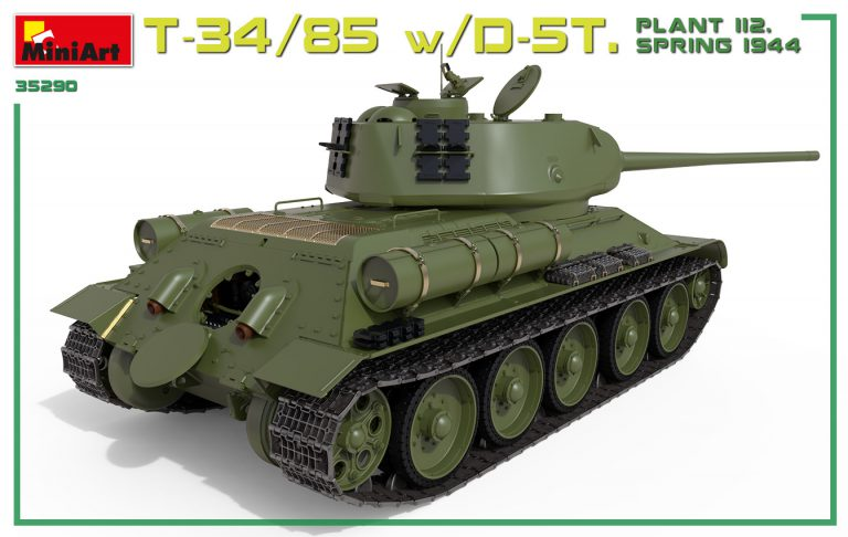 35290 T-34/85 w/D-5T. PLANT 112. SPRING 1944. INTERIOR KIT