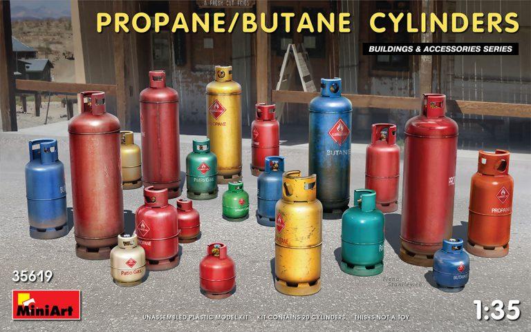 35619 PROPANE/BUTANE CYLINDERS