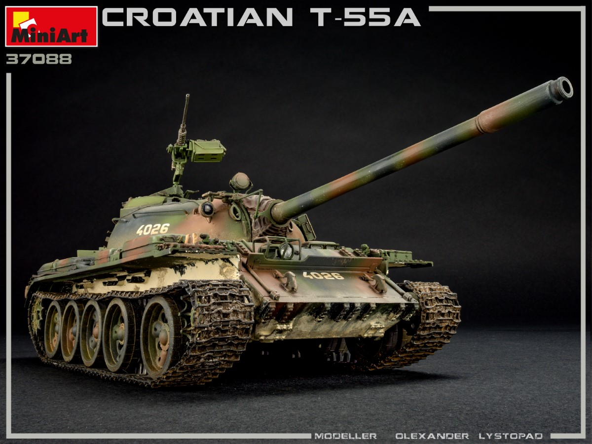 New Photos of Kit: 37088 CROATIAN T-55A