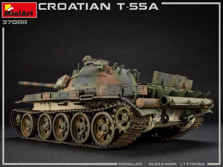 37088 Хорватский Т-55А