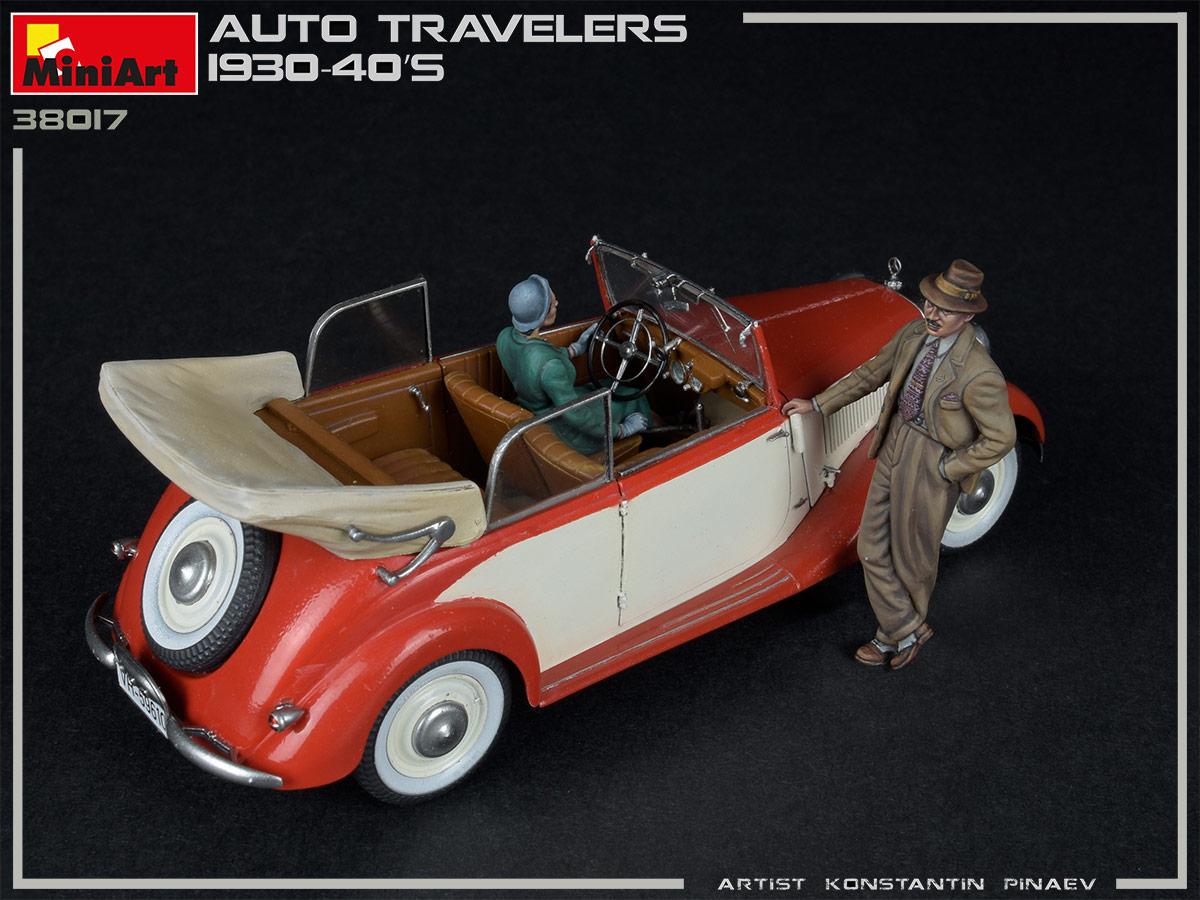 MiniArt 38017 1/35 Auto Travelers 1930-40s » Mister Model