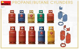 Side views 35619 Propane/Butane Flaschen