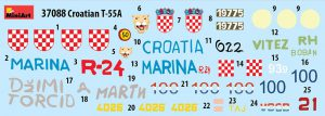 Content box 37088 CROATIAN T-55A