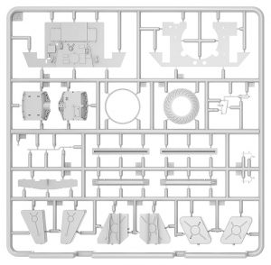 Content box 35290 T-34/85 w/D-5T. PLANT 112. SPRING 1944. INTERIOR KIT