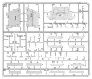 Content box 35290 苏联T-34/85 w/D-5T 坦克带内构 112工厂 1944年春