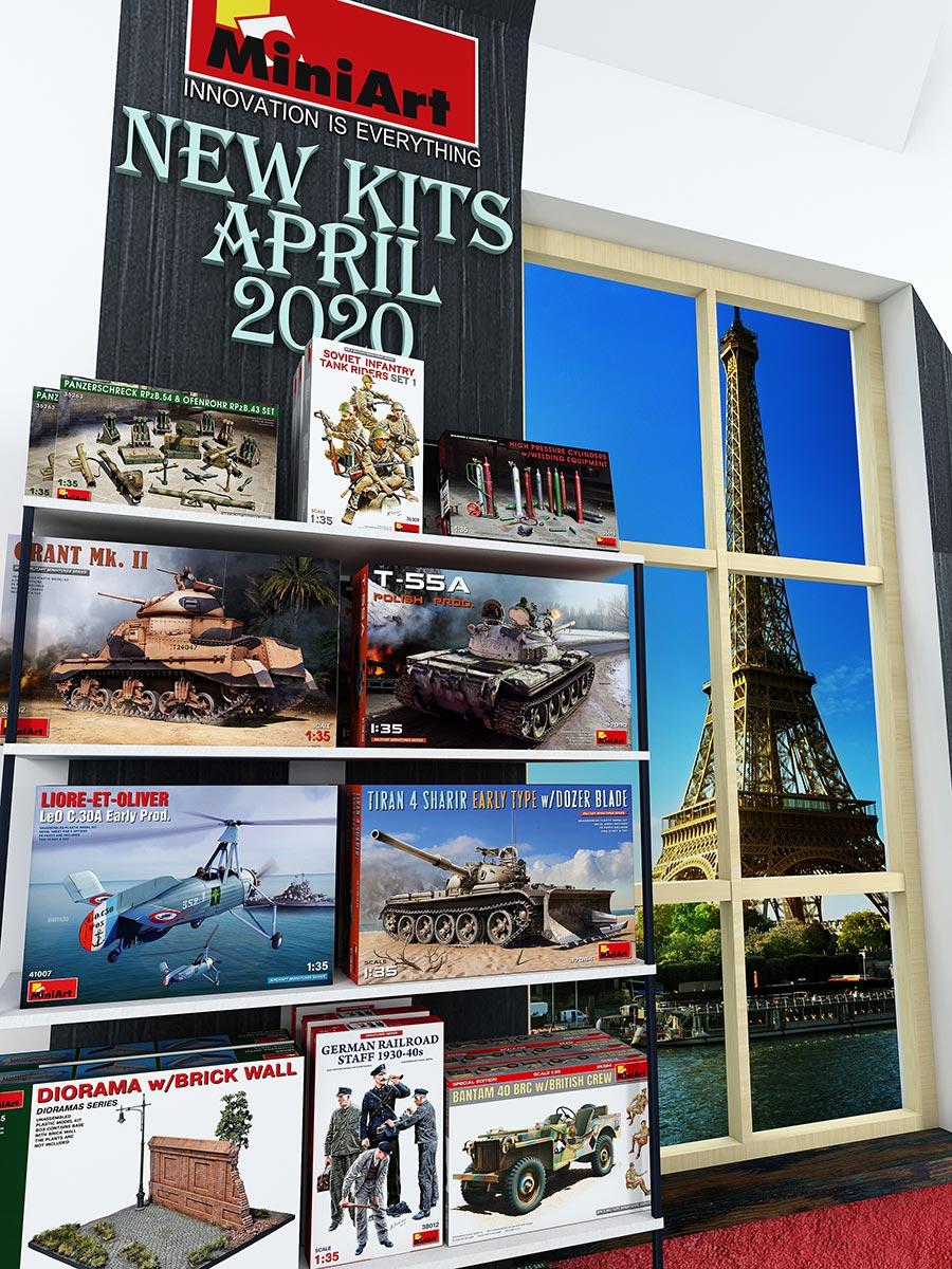 New MiniArt's Kits Available April 2020