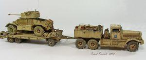 35155 AEC Mk.II ARMOURED CAR + Pascal Bausset