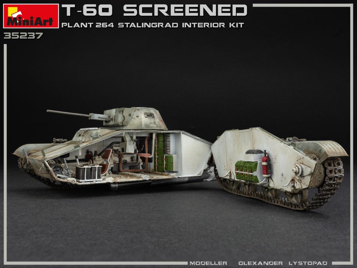 35237 T-60 SCREENED (PLANT NO.264 STALINGRAD) INTERIOR KIT