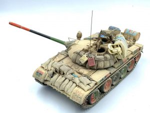 37068 T-55 POLISH PROD. + Peter Robinson