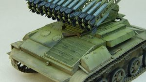35234 BM-8-24 SELF-PROPELLED ROCKET LAUNCHER + Anatoly Pozhidaev