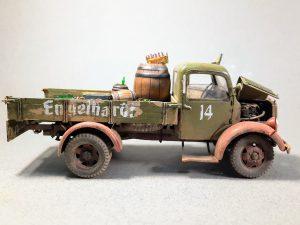 38014 GERMAN CARGO TRUCK L1500S + Paucheck Marsel