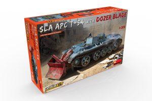 37028 SLA APC T-54 w/DOZER BLADE. INTERIOR KIT + Igor Sydorenko