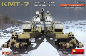 37070 KMT-7 EARLY TYPE MINE-ROLLER + Evgeny Brovkin