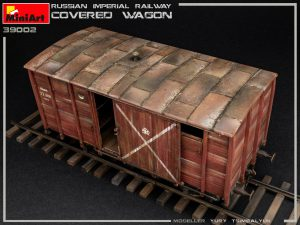 Photos 39002 RUSSIAN IMPERIAL RAILWAY COVERED WAGON