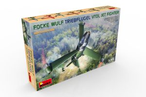 40009 FOCKE WULF TRIEBFLUGEL VTOL JET FIGHTER + Evgeny Solodukhin