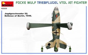 Side views 40009 FOCKE WULF TRIEBFLUGEL VTOL JET FIGHTER
