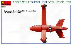 Side views 40009  フォッケウルフ トリープフリューゲル VTOLジェットファイター