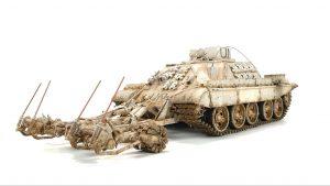 37043 UKRAINIAN BMR-1 w/KMT-9 + Peter's Models