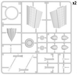 Content box 40009  フォッケウルフ トリープフリューゲル VTOLジェットファイター