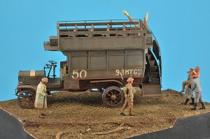 39001 B-TYPE MILITARY OMNIBUS + Gary Radford