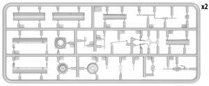 Content box 35616 Französische Tankstelle  1930-40er