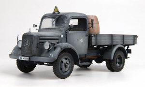 35142 MB 1500S GERMAN 1,5t CARGO TRUCK + Alexander Nagibovich