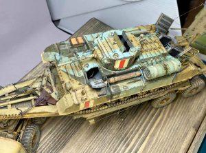 35116 BRITISH INFANTRY TANK VALENTINE Mk.I w/CREW + Won Beom Lee