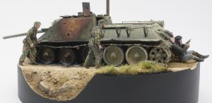 35187 SU-85 SOVIET SELF-PROPELLED GUN. INTERIOR KIT + Amyrul Firdaus
