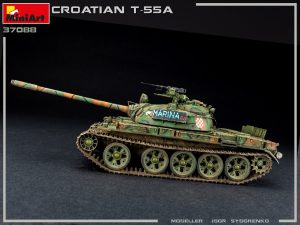 Photos 37088 CROATIAN T-55A
